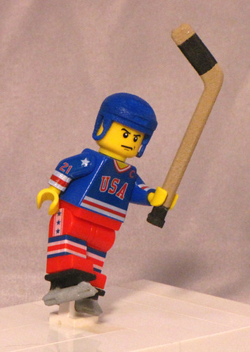 Mike Eruzione LEGO minifig