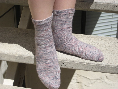 Soy/Silk/Wool socks