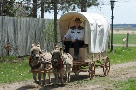 2009 Prairie Home Carriage Festival at Dakota City Heritage Village
