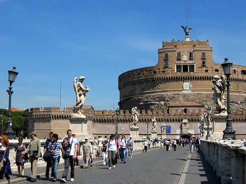 Castel SantAngelo in Rome.