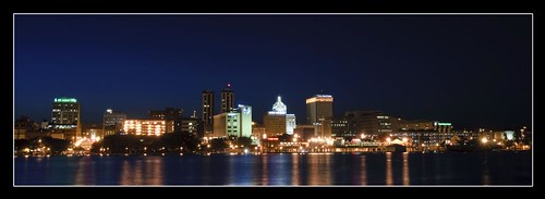 Peoria Skyline in May