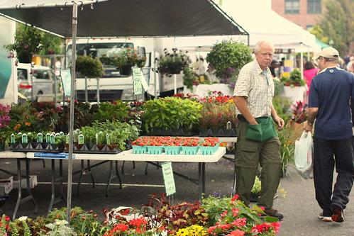 Tenafly Farmers Market June 14, 2009 by you.