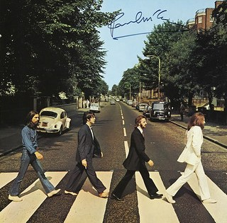Abbey Road LP Cover