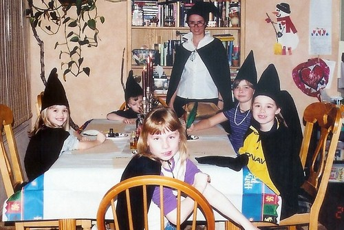 harry potter party classes