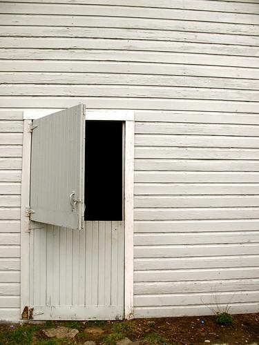 barn door by you.