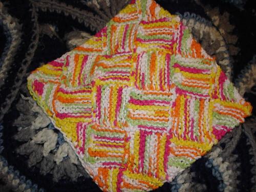 garterlac cloth