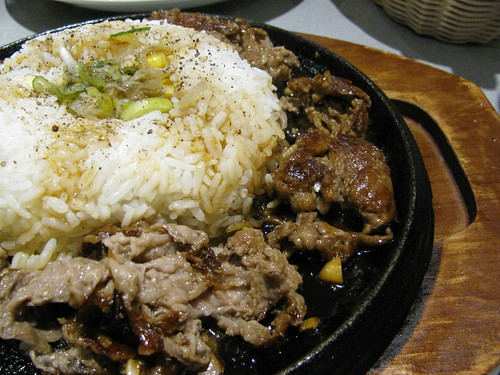 Beef Pepper Rice at Sizzling Pepper Steak