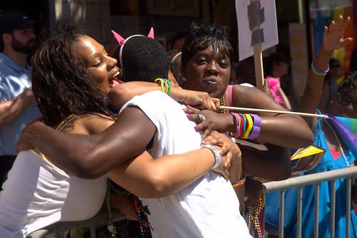Hugz @ 2009 Chicago Gay Pride Parade