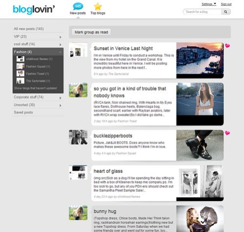 New Improved Bloglovin'