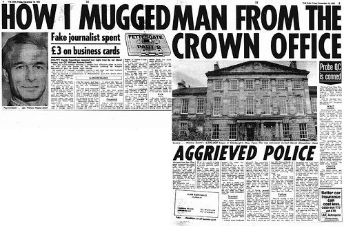 How I Mugged Man from the Crown Office the Sun 18 December 1992