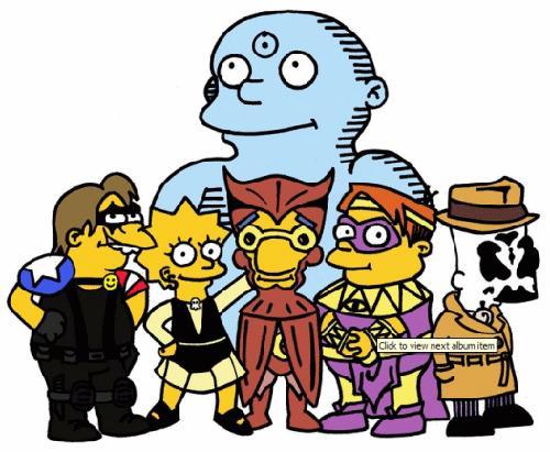 watchmen simpson por ti.
