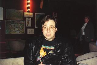 Bill Hicks, 1991, by me