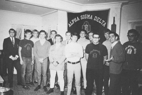 Alpha Sigma Delta at Dowling College, 1969