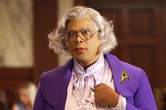 Tyler Perry in the Star Trek movie