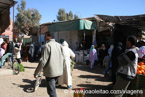 Los precios de las frutas y hortalizas en el mercado en Marruecos