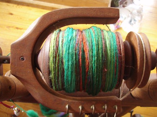 handspun on the wheel
