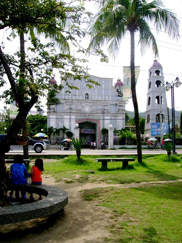 Then there is Naga, known as one of the older town in Cebu it is home to the unique church of San Francisco de Asis-St. Francis of Assisi, its style is exceptional, it has some Moorish quality to it, truly a outstanding religious art that Cebuano's should conserve for the future generation Its foundations are exposed from the its side. Its construction was carried out by Fray Aguirre following Bishop Maranon's blueprint, a known church builder who was also the hand behind the convent-school of Cebu Cathedral, Sibonga convent and Argao church.