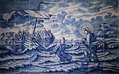 Jezus op het meer van Galilea
