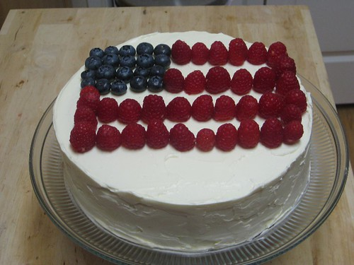 Independence Day Cheesecake