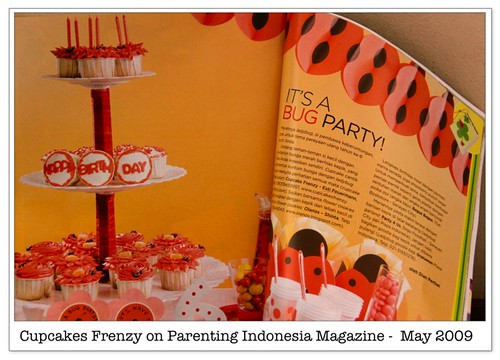 Cupcakes Frenzy on Parenting Indonesia Magazine -  May 2009