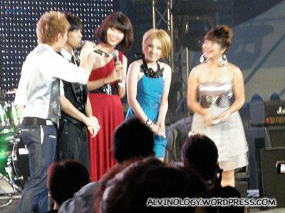 Derrick Hoh, Joi Chua and Shi XIn Hui
