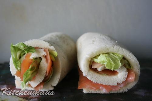salmon tramezzini