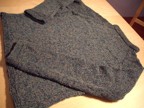 Raglan Sweater Made from Custom Yarnia Yarn :)