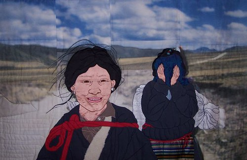 Nomad Girls, 2008, 24 x 35  ©Leslie Rinchen-Wongmo