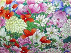 """Vase à décor """"mille fleurs"""" (musée G..."""