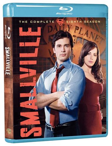 Smallville BD Box art