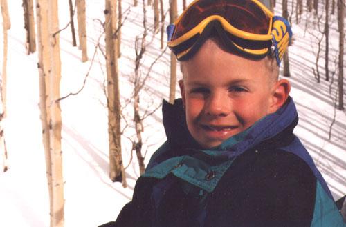 Ski Trip 1995 - Daniel Age 6