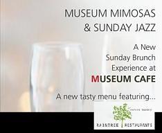 Museum Cafes Sunday Jazz Brunch