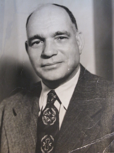 Emmanuel here as a successful businessman ca. 1940s
