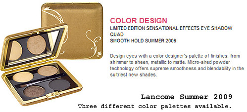 Lancome Summer 2009 Collection