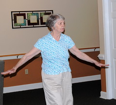Gmommy dancing