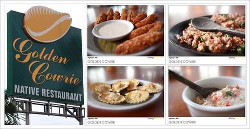 Golden Cowrie Filipino Restaurant in Cebu Philippines