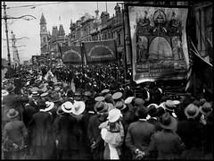 Trade union procession, 1918