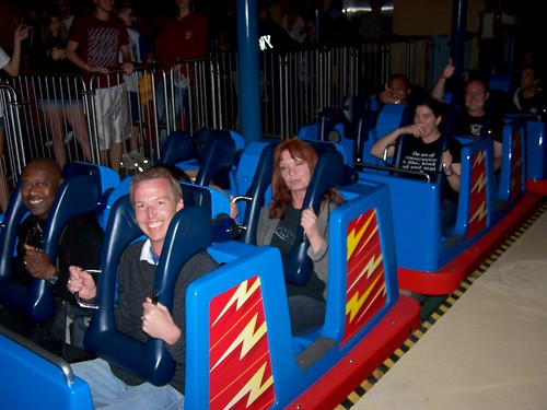 notice how I am NOT in the roller coaster