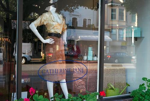 Sacramento Street Shop Window San Francisco Ca March