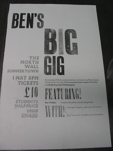 Ben's Big Gig #3