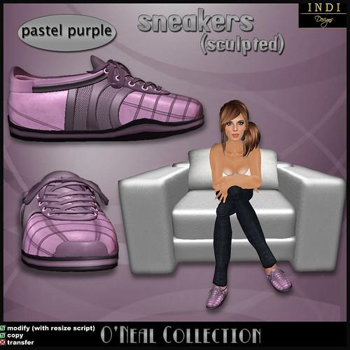 O'Neil sneakers pastel purple