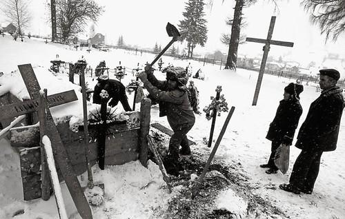 Carlibaba funeral Jesus Voicu Bojan