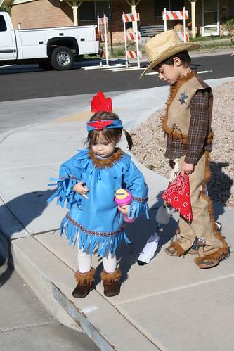 Katelyn-Indian Princess & Charlie-Cowboy