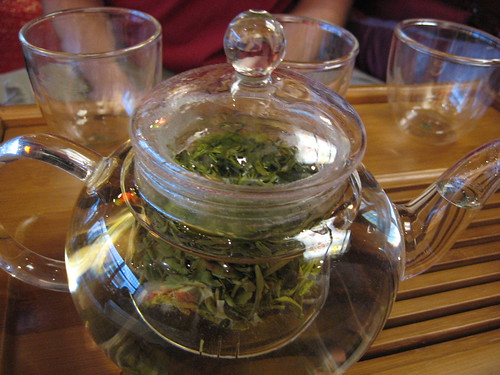 This was good tea at a very peaceful tea house.