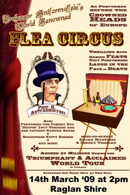 TSMGO - Flea Circus Poster