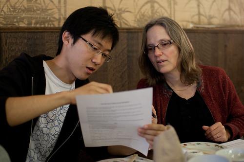 Banquet table problem algebra