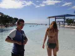 La lagoon a Cairns, di giorno