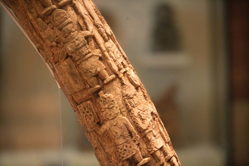 Image, The Benin Tusk on display at The Manchester Museum