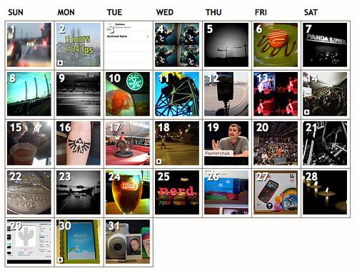March 2009 uploads