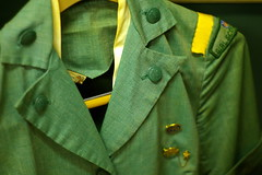 Girl Scout uniform (in a Savannah, GA antiques venue)